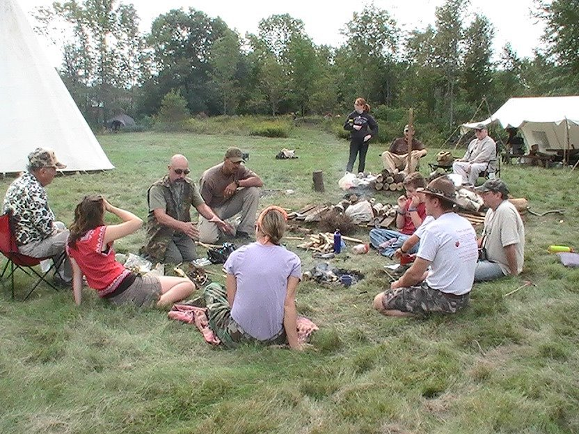 maine primitive gathering