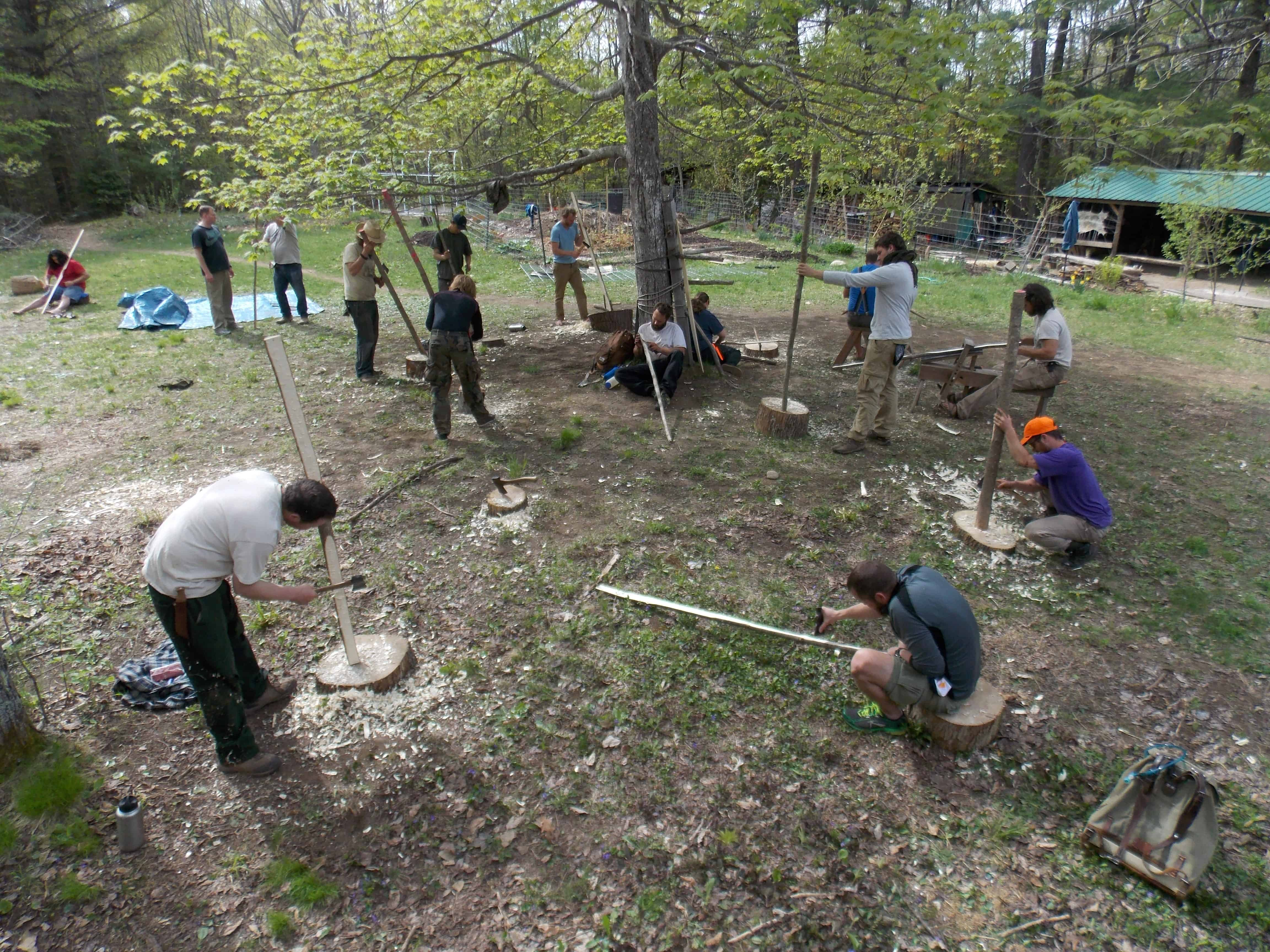 apprenticeship in primitive skills and outdoor education maine these three phase professional programs are an immersion in skills development application of educational strategies and community building put