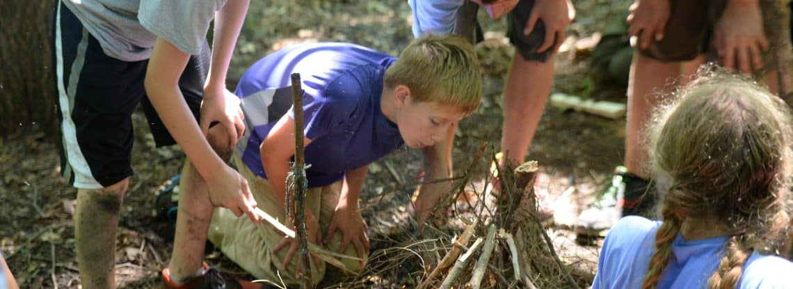 2017 NATURE AWARENESS and SURVIVAL SKILLS DAY CAMP - Register now!