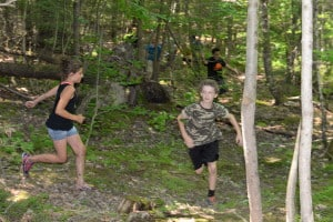 "High Energy ""East"" activities. photo by Mike Douglas, Maine Primitive Skills School"