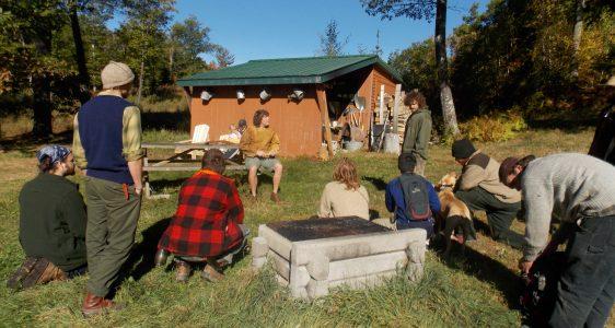 Rewilding Page 8 Maine Primitive Skills School
