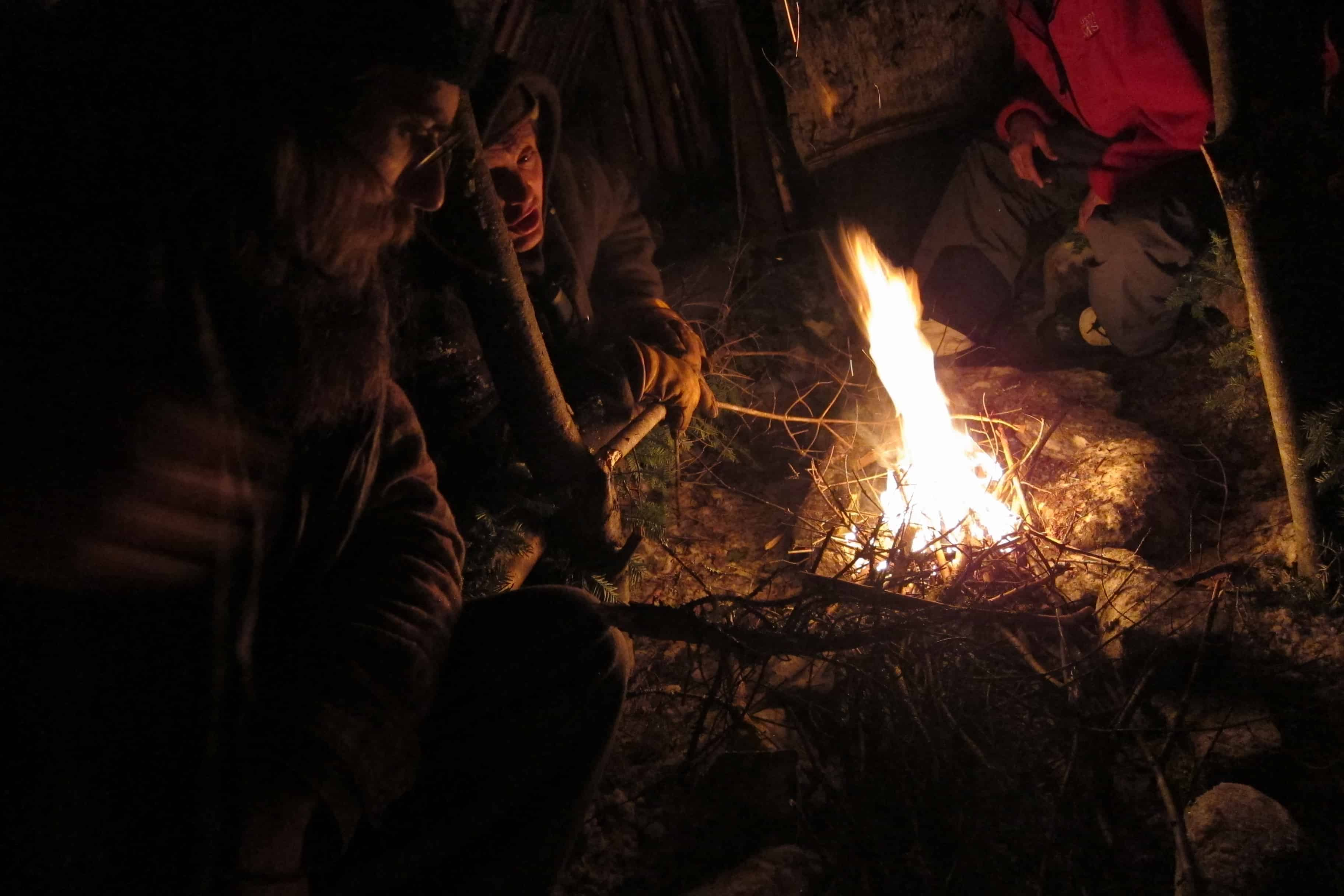 preventing conduction in cold weather survival maine primitive